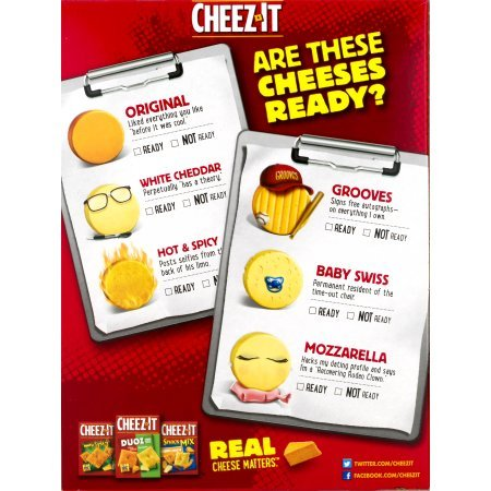 PACK OF 12 - Cheez-It Baked Snack Crackers Snack Mix Classic, 10.5 OZ by Cheez-It (Image #6)