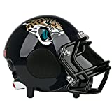 Official NFL Jacksonville Jaguars Licensed Portable Bluetooth Speaker, Authentic Helmet Design, Built In Microphone Technology, Bottom Sub Woofer, Built-in USB Charging Port to Charge your Devices