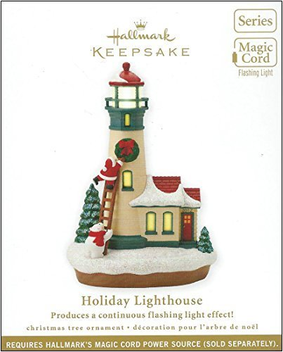 Hallmark 2012 Keepsake Ornaments QX 8311 Holiday Lighthou...