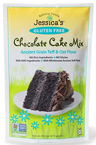 (Jessica's Natural Foods, Gluten-Free (Chocolate Cake Mix) (Pack of 2))