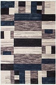 DiB Wool Look Blue 200 X 285 cm