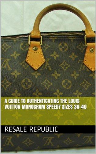 e450e2b1163b A Guide to Authenticating the Louis Vuitton Monogram Speedy Sizes 30-40 (Authenticating  Louis