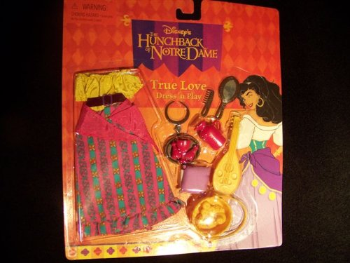 Disney's The Hunchback of Notre Dame True Love Dress 'n Play