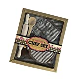 Kids Apron Set For Boys-Complete Children's Chef Set Baking Set With Chef's Apron, Cooking Mitt & Utensils – Recommended for Boys & Girls Ages 3+