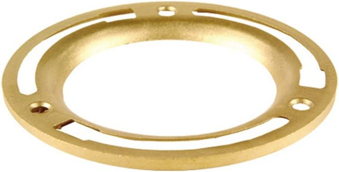 Brass 3-Inch or 4-Inch for Use with 4 in Closet Flanges Oatey 43551 Replacement Ring