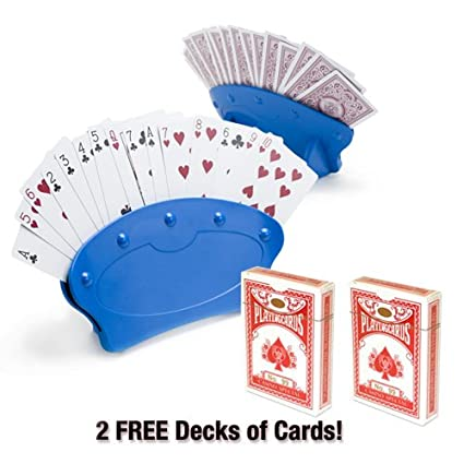 Amazon.com : Brybelly Hands Free Playing Card Holder (Pack ...