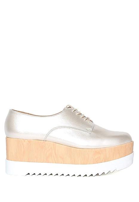 61197e8327 Perugia Zapato Dorado Zapatilla para Mujer Oro Talla 26  Amazon.com ...