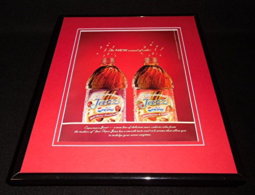 2006 Diet Pepsi Jazz Framed 11x14 ORIGINAL Vintage Advertisement