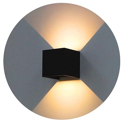 K-Bright lampada da parete a LED,12W Bianco Caldo Applique da parete ...