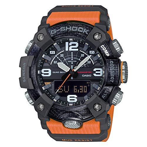 Casio GGB100 1A9 Mudmaster Orange 55 4mm product image
