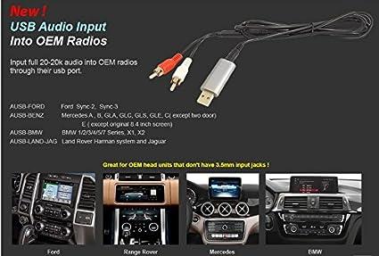 Amazon com: Accele AUSB-FORD USB RCA Audio Input into OEM