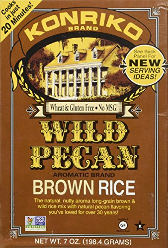 Konriko Rice Wild Pecan (Louisiana Pecan)