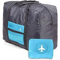 Duffel Bag 32L Ultra Lightweight Foldable Packable Overnight Holdall Waterproof Travel Handbag Shoulder Organizer…