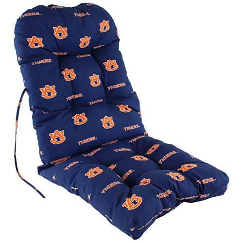Auburn Tigers Throw Pillow - College Covers Auburn Tigers Adirondack Chair Cushion, One Size, Team Colors