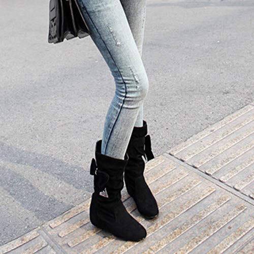 On Black Boots Pull Wedges Low Bow Coolcept Slouch Women OnYfwCgxqz