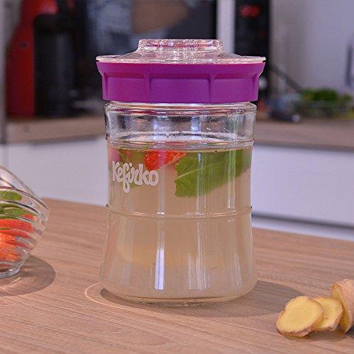 KEFIRKO - Homemade milk and water kefir system, as seen on Kickstarter by Kefirko (Image #4)