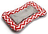 Water Resistant Travel Bed for Small Dogs - Red