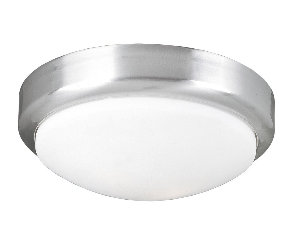 World Imports Lighting 9302 37 Beyond Modern 2 Light Flush Mount Ceiling  Fixture, Brushed Nickel     Amazon.com