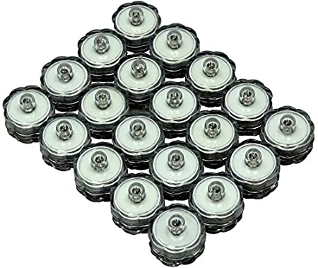 Green 96-Pack Green submersible tea lights 96 pack Bluedot Trading Submersible Tea Lights