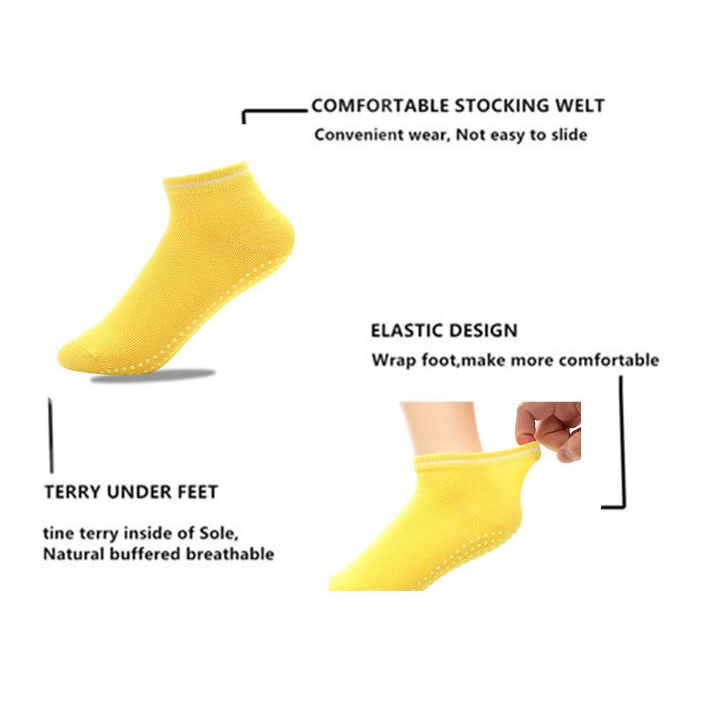 Yoga Socks Barre Pilates for Women (8 Pair)