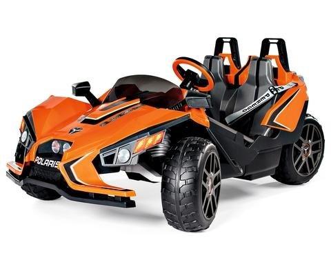 Children's Electric Car Polaris Slingshot 12V 2 Seater Battery Powered - Peg