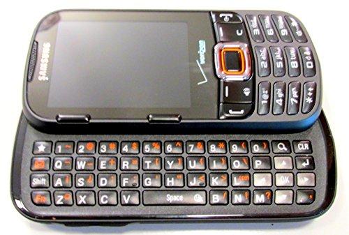 Samsung Intensity II SCH-U460 Black Verizon Cell (Verizon Slider Phones)