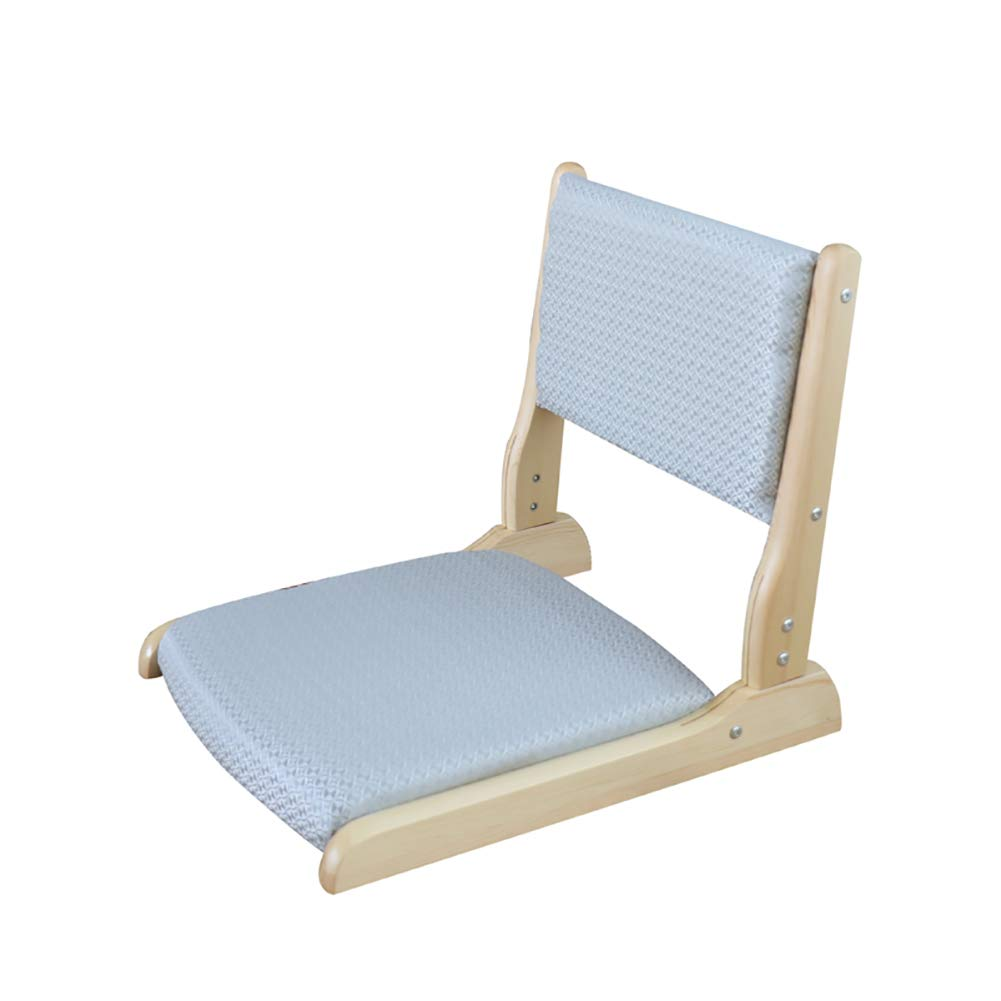 YWTY Legless Stuhl, japanischen Stil Erwachsenen Massivholz Beinlosen Stuhl, geeignet für Trinken Tee Spiel Lesen und Fernsehen