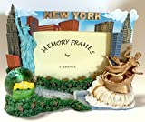 NYC New York City Snow Globe Picture Frame
