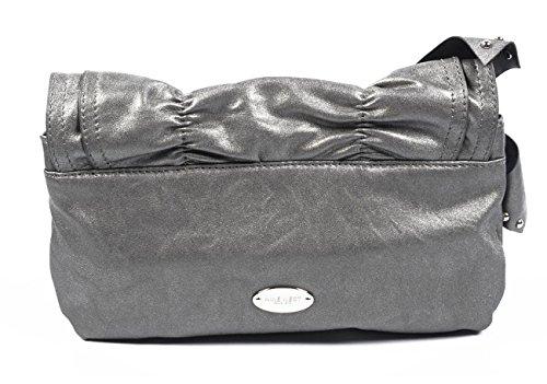NINE WEST Damen-Unterarmtasche/Geldbörse/Handtasche 196306 PEWTER