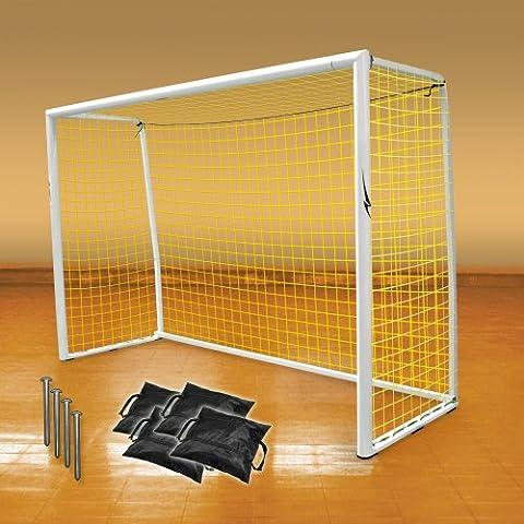Agora Official Futsal Aluminum Goal Kit - 6'7