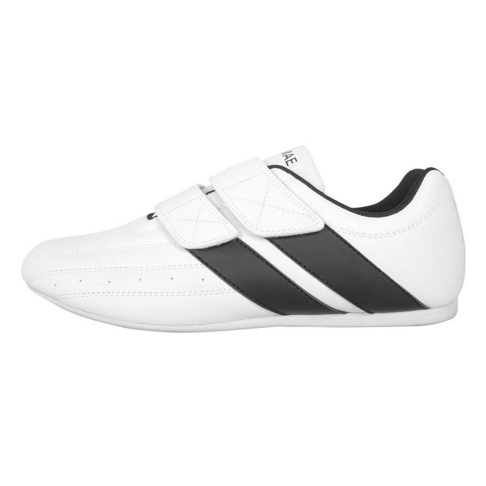 Zapatilla Taekwondo Double Power. Velcro. Blanco FUJI MAE