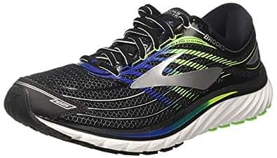 Brooks Glycerin 15, Zapatillas de Running para Hombre, Negro (Black/Electricbrooksblue/Green 1d012), 40 EU