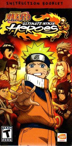 Amazon.com : Naruto - Ultimate Ninja Heroes PSP Instruction ...