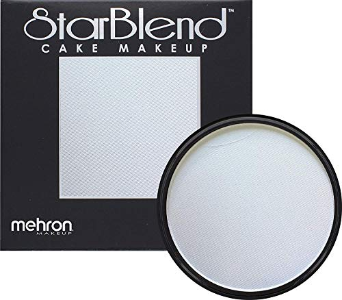 Halloween Face Paint With Beard (Mehron Makeup StarBlend Cake (2 oz) (Light)
