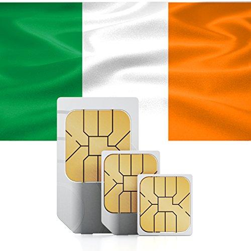 Irish Prepaid Standard Micro Nano 1GB DATA Sim Card 30 Days 3G LTE Ireland