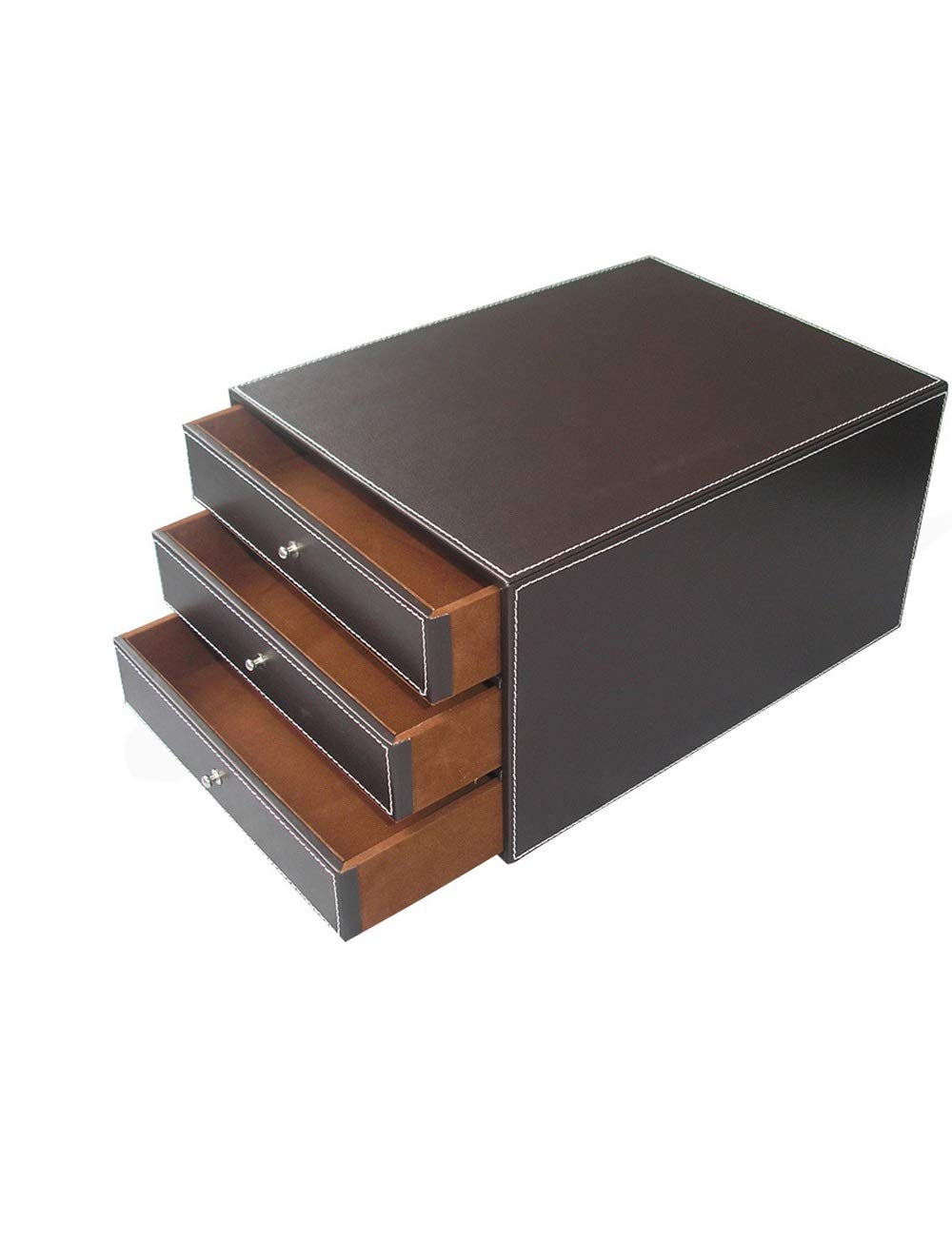 File Cabinets Office Organizer File Holder A4 Plastic Data Cabinet Locker Drawer Desktop Cabinet File Storage Cabinet Storage Box (Design: 3 Drawers) Home Office Furniture (Color : B) by File Cabinets
