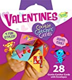 Peaceable Kingdom Funny Valentine 28-Card Super Packs, in Cootie Catcher