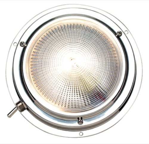 Seachoice Day or Night Vision Dome Light 5 inch Round S/S 06651
