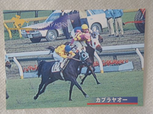 競馬カード メモリアルカード thoroughbred サラブレッド カブラヤオー