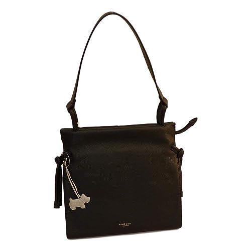 b58e425b13 RADLEY  Whitechapel  Large Black Leather Shoulder Bag - RRP £199 ...