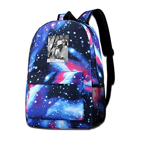 IUSGWY SWJI Jay-Z & Biggie- Brooklyn's Finest Galaxy School Bookbags