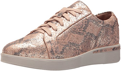 Flower Haddie Souls Rose Sneaker Low Wedge Rose Embroidery Gentle Women's pBOwn6qx6F
