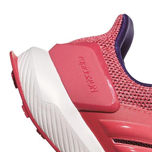 adidas RapidaRun K, Zapatillas de Trail Running Unisex Adulto Rosa (Bayint/Bayint/Rostiz 000)