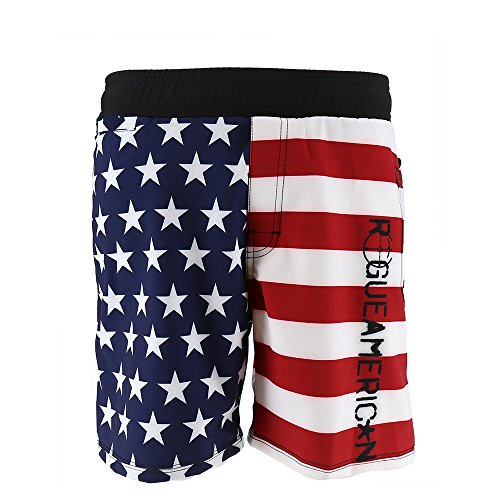 Rogue American Glory Men's Board Shorts (Glory, - Tie American Apparel