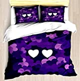 King Size Bed Vs Cal King NTCBED Star vs. The Forces of Evil Mewberty - Duvet Cover Set Soft Comforter Cover Pillowcase Bed Set Unique Printed Floral Pattern Design Duvet Covers Blanket Cover King/Cal King Size
