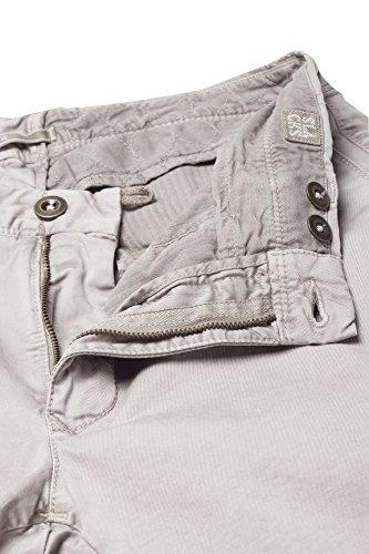 Skin Grigio Chino Incotex Fit Pantaloni Chiaro UxfEFPwq