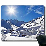 Anti-Slip Laptop PC Mice Pad Mat Mousepad For Optical Laser Mouse? Mouse Pad Nature Rectangle 8.66 in X 7 in For a birthday present MP121281
