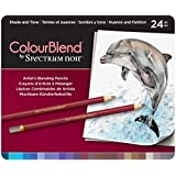 ColourBlend by Spectrum Noir 24 Piece Pencil Tin, Shade and Tone