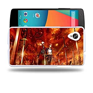 Case88 Designs Fate Stay Night Shir? Emiya & Archer Unlimited Blade Works Protective Snap-on Hard Back Case Cover for LG Nexus 5