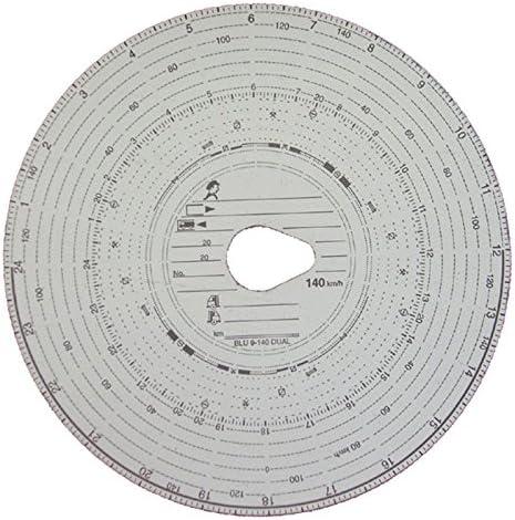 3 Packungen Tachoscheiben Diagrammscheiben bis 140 km/h Tachoblatt Kontrollscheiben 140-24 Fahrtenschreiberscheiben Tachographen